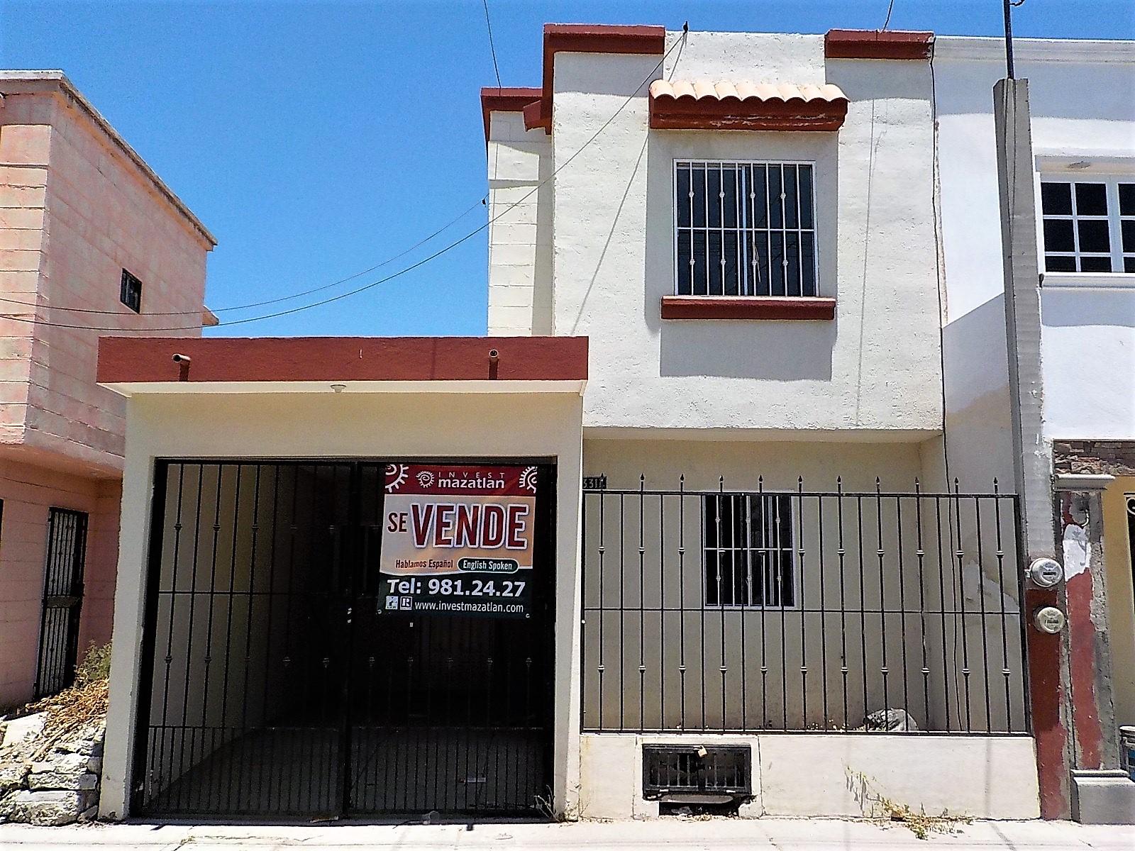 Bonita casa con recamara en la planta baja invest mazatl n for Casas planta baja bonitas