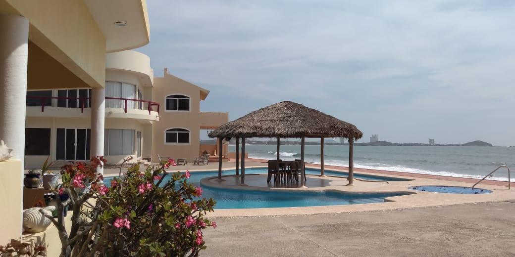 Tranquil oceanfront ADULT ONLY community in Nuevo Mazatlan