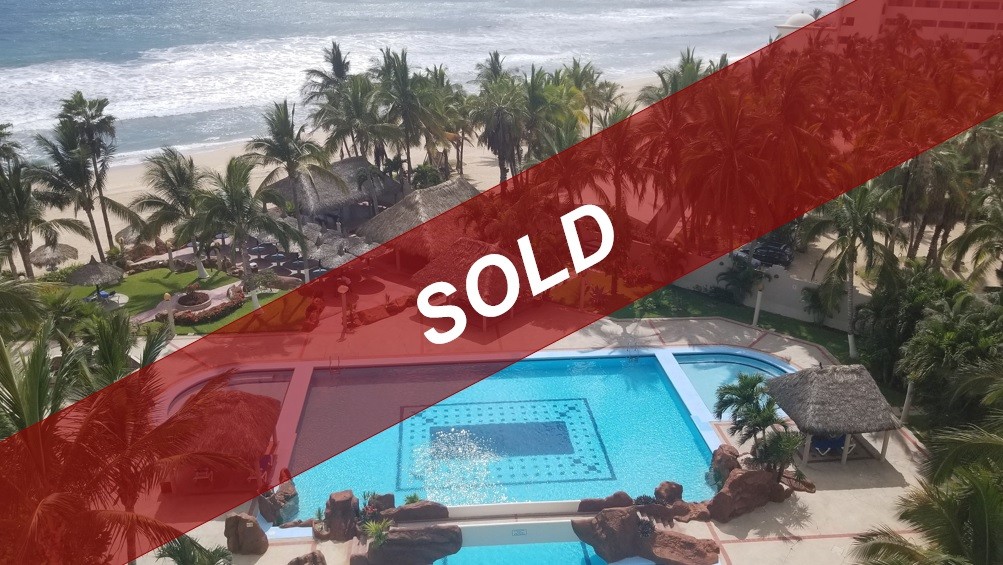 Affordable beachfront condo with low HOA fees in Mazatlan – NEW!