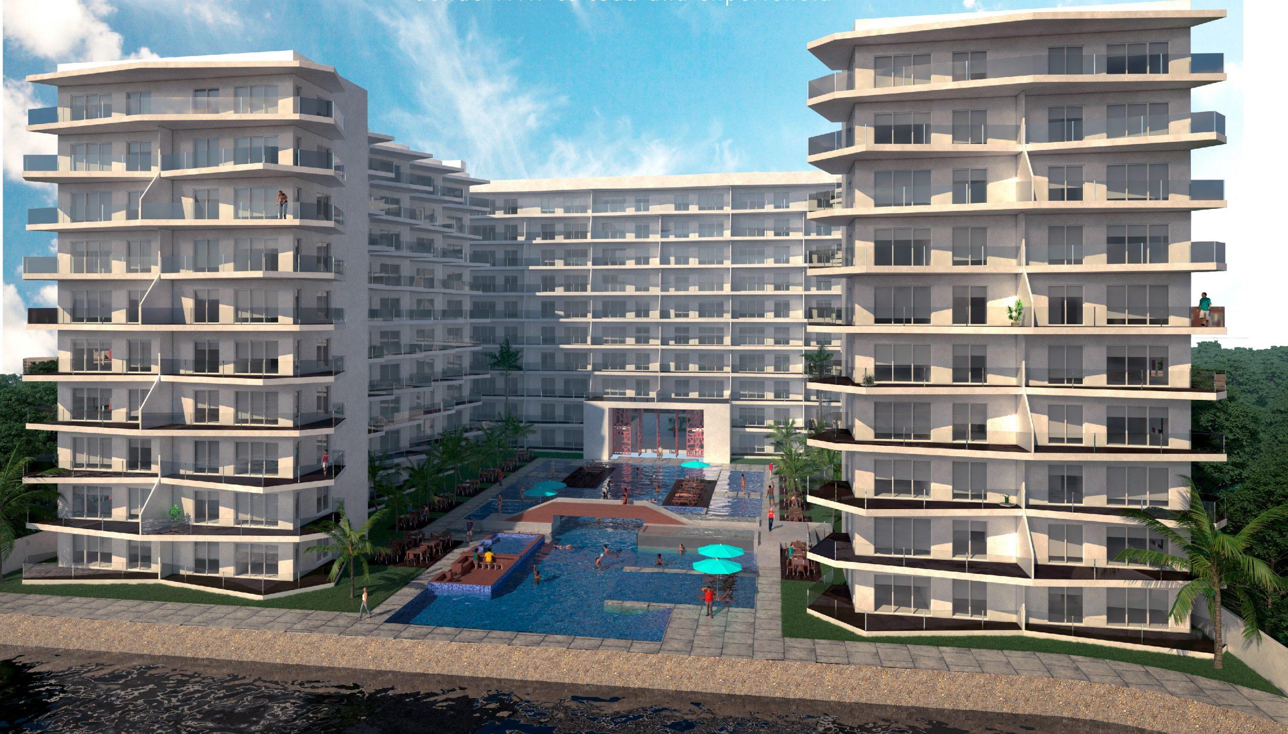Luxurious 2-level penthouse in Marina Mazatlán – Torre Nautilus