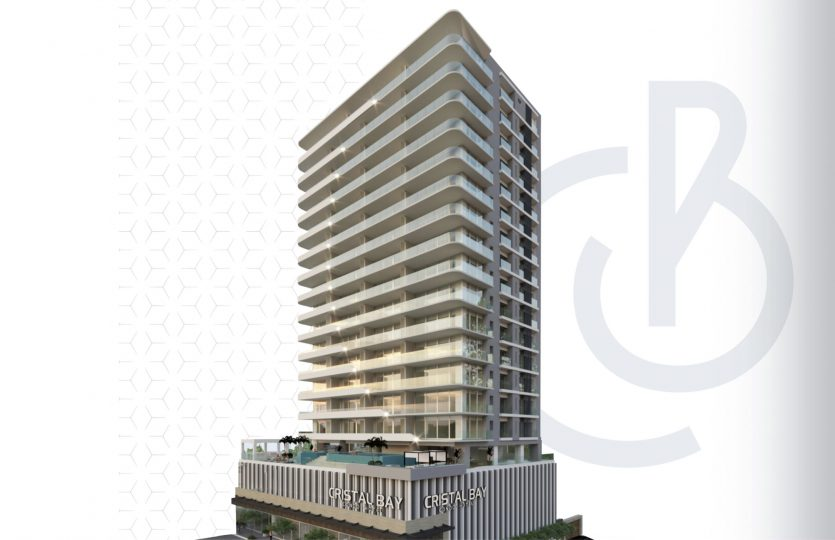 Malecon-front condo located   1 block away from the Central Park – Cristal Bay